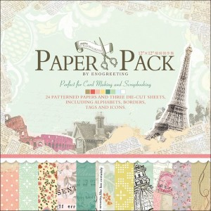 Paper Pack «REMINISCENCE», Enogreeting, 24 листа +вырубки