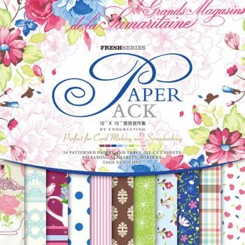 Paper Pack «FRESH SERIES», Enogreeting, 24 листа +вырубки