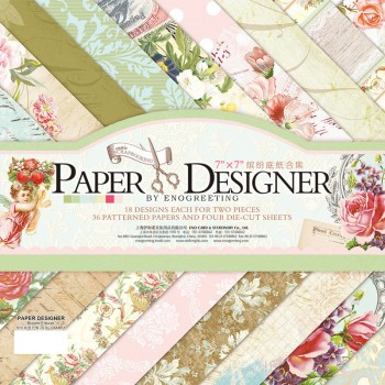 Paper Designer «BLOOM FLOWER», 36 листов