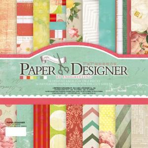 Paper Designer «FLOWERS», 36 листов