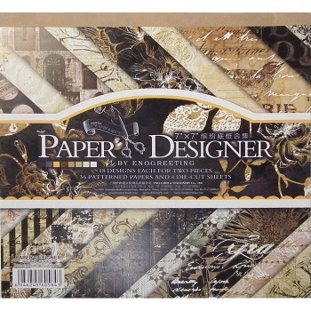 Paper Designer «RETRO SERIES», 36 листов