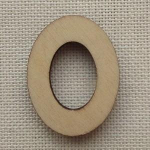 Деревянная цифра «Ноль», декор для творчества