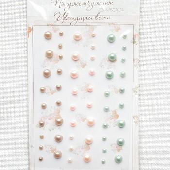 Полужемчужины коллекция «Цветущая весна», 54 шт.