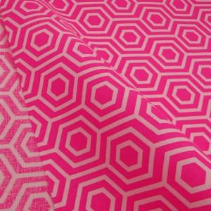 Ткань 100% хлопок, «Неоновый розовый», отрез 50х55 см.