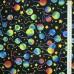 Ткань 100% хлопок, «Воздушные шары», отрез 50х55 см.