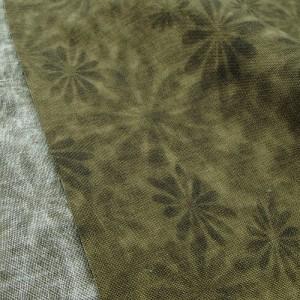 Ткань 100% хлопок, «Дымчатые цветы», отрез 50х55 см.