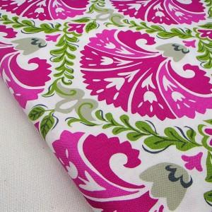 Ткань 100% хлопок, «Розовое лето», отрез 50х75 см.