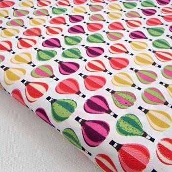 Ткань для рукоделия «Воздушные шары», отрез 50х70 см.