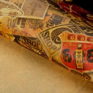 Крафт-бумага для творчества «Авто», А4, 160 гр./кв.м