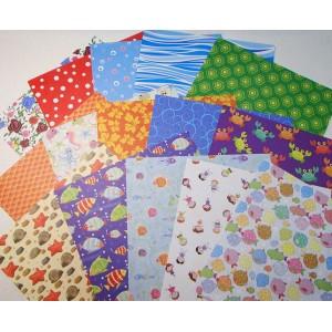 Бумага для оригами «Яркий», 60 листов
