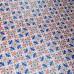 Подарочная бумага «Пиксели. Красный и синий», 49х75 см., 1 лист