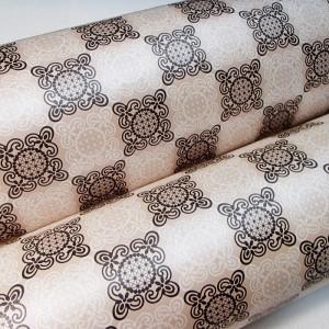 Подарочная бумага «Ажур», 49х75 см., 1 лист