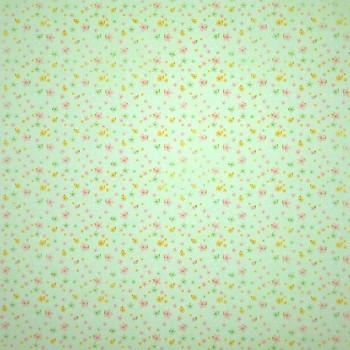 Бумага для скрапбукинга «Полянка», FleurDesign, 30,5х30,5 см., 1 лист