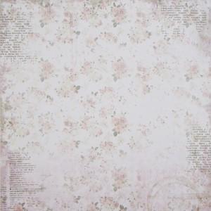 Бумага для скрапбукинга «Мечты», FleurDesign, 30,5х30,5 см., 1 лист