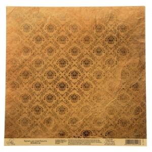 Бумага Арт Узор «Винтажный крафт», 29,5х29,5 см., 1 лист