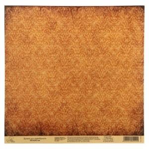 Бумага Арт Узор «Паттерн крафт», 29,5х29,5 см., 1 лист