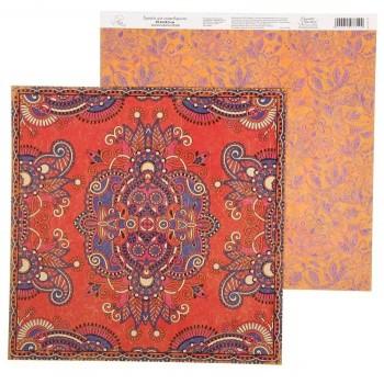 Бумага Арт Узор «Персидский ковер» Восточные сказки, 29,5х29,5 см., 1 лист