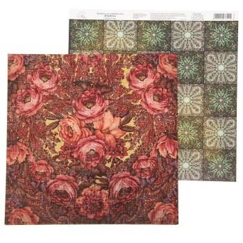 Бумага Арт Узор «Винтаж» A la Russe, 29,5х29,5 см., 1 лист
