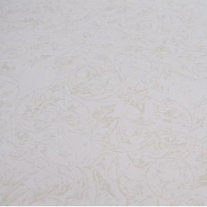 Бумага для скрапбукинга «Тиснение Ваниль», FleurDesign, 30,5х30,5 см., 1 лист