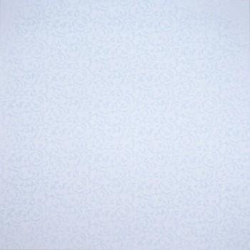 Бумага для скрапбукинга «Узоры Небесный», FleurDesign, 30,5х30,5 см., 1 лист