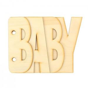 Заготовка для альбома «Baby», 4 детали