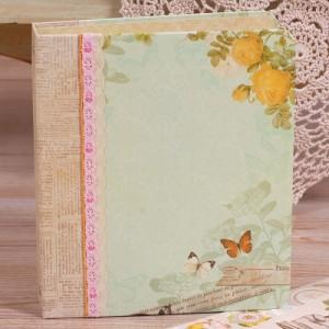 Набор для альбома в папке «Цветы»