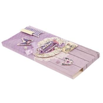Коробочка-шоколадница «Счастье в каждом мгновении» 10х18х2 см.