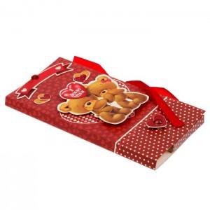 Коробочка-шоколадница «Я люблю тебя» 10х18х2 см.