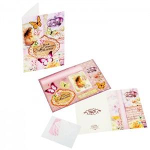 Набор для создания открытки «Мамочке»