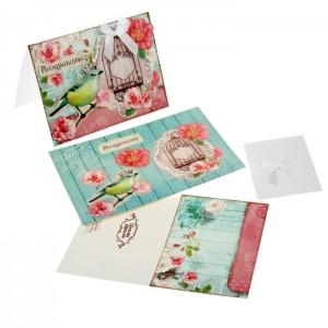 Набор для создания открытки «Поздравляю»