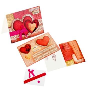 Набор для создания открытки «Я люблю тебя»