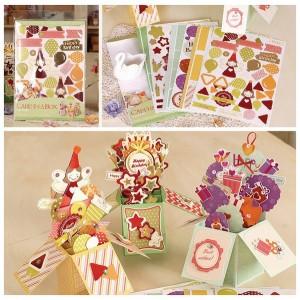 Набор для создания открыток-коробочек «С Днем рождения!»