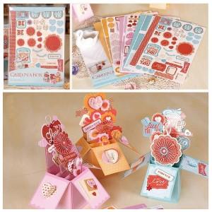 Набор для создания открыток-коробочек «Вместе навсегда»