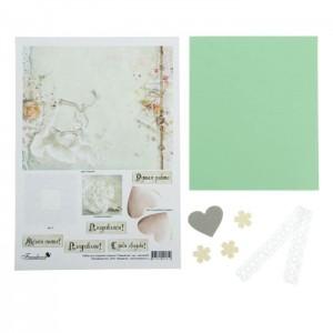 Набор для создания открытки «Свадебная»