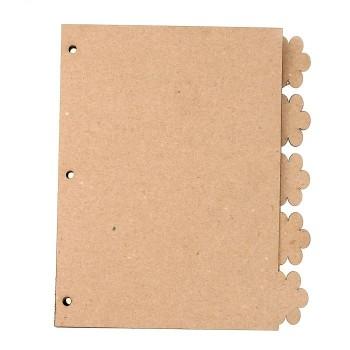 Заготовка для альбома «Лапки», 5 листов
