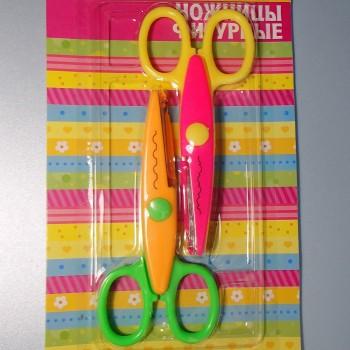 Фигурные ножницы «Цветик», набор из 2 штук (фестоны)
